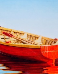 Red-Boat - 20x36in - 2013