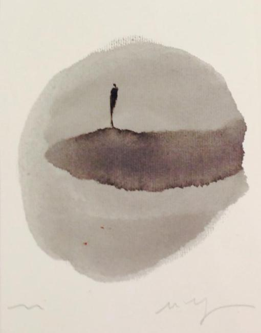 LM116 Untitled,25x18.5cm,Pigment on Paper-min