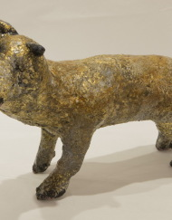 LM177 Ponder Dog 22x14x17cm, concrete,Metal